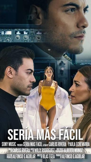 Carlos Rivera y Paula Echevarría en Sería más fácil