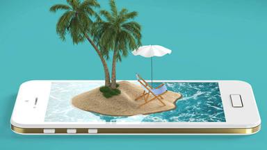 ¿Renunciarías a tu móvil por viajar?