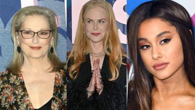 Meryl Streep, Nicole Kidman y Ariana Grande