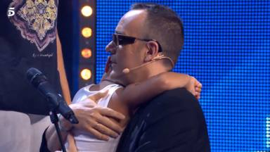 Risto Mejide abraza al joven bailarín de Mario Prieto en 'Got Talent'