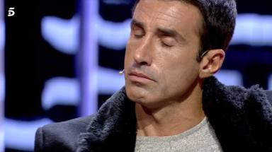 Hugo Sierra se derrumba en el plató de 'GH VIP 7'