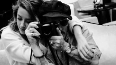 Johnny Depp y su exmujer Amber Heard