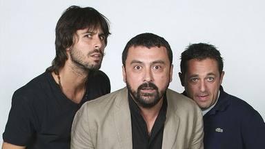 Paco Tous, Hugo Silva y Pepón Nieto, protagonistas de Los hombres de Paco