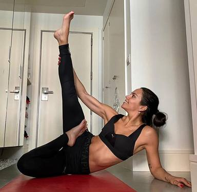 Cristina Pedroche, experta yogui