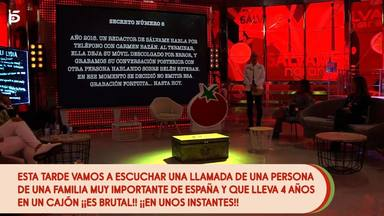 Salvame muestra un audio comprometido de Carmen Bazán criticando a Belén Esteban