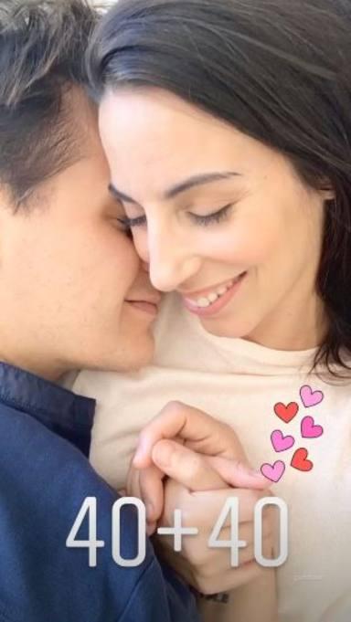 Christian Gálvez felicita a Almudena Cid por su 40 cumpleaños con unas románticas palabras