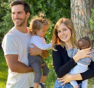 Natalia Sánchez ha formado una gran familia junto a Marc Clotet