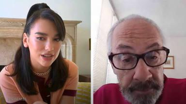 Dua Lipa entrevista a unas personas muy interesantes y sorprendentemente resulta que no la conocen de nada