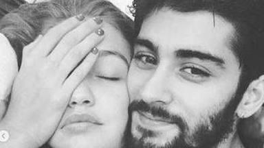 nunca suelen hacerse muchas fotos juntos (Zayn Malik y Gigi Hadid)