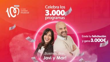 Concurso 3000 programas ¡Buenos días, Javi y Mar!
