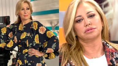 """Belén Esteban no se calla y planta cara a Rosa Benito y Amador Mohedano: """"¡En mi vida!"""""""