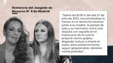 El día que cambió para siempre la relación de Rocío Carrasco y Rocío Flores: Tengo ganas de partirte la cara