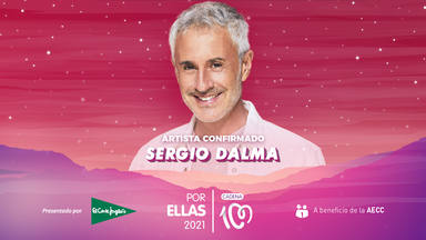 Sergio Dalma se une a la lista del cartel CADENA 100 Por Ellas 2021
