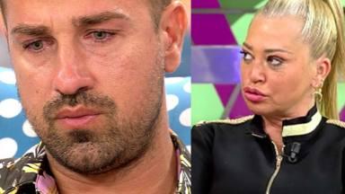 Belén Esteban y Rafa Mora en 'Sálvame'