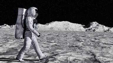 Els científics ja estudien com acampar... a la Lluna !