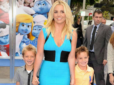 Britney hijos