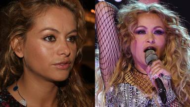 El antes y el después de Paulina Rubio