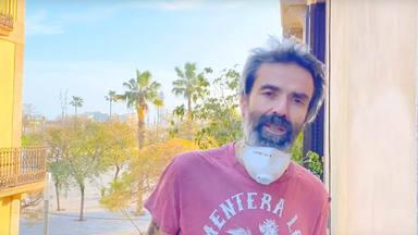 """Pau Donés continúa cantando al personal sanitario con ''Los ángeles visten de blanco"""""""