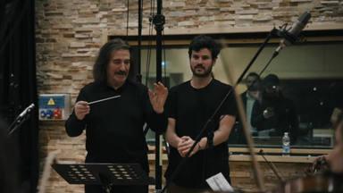 """Luis Cobos impartió una auténtica MasterClass a Taburete para """"Brindo"""""""