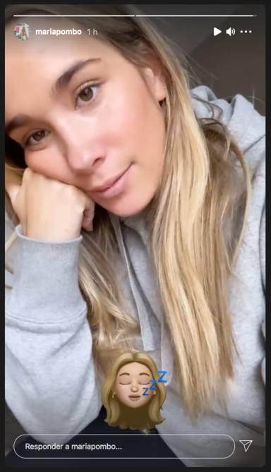 María Pombo habla sobre su silencio en Instagram
