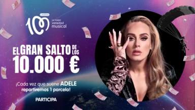 Adele, artista del día en El Gran Salto de los 10.000 euros de CADENA 100