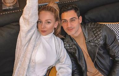 Ester Expósito y Alejandro Speitzer en una foto de sus redes de cuando eran pareja