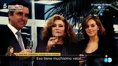 Rocío Carrasco y Rocío Jurado habrían granado un dueto cuya maqueta está en poder de Cristina Cárdenas