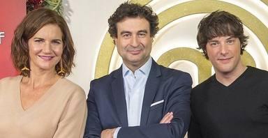 Samantha Vallejo-Nágera, Pepe Rodríguez y Jordi Cruz en 'Masterchef'