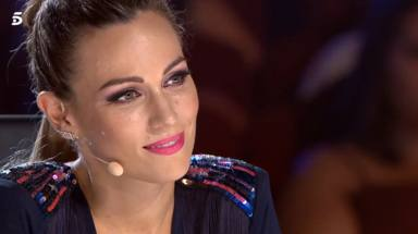 Edurne llora en Got Talent