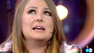Rocío Flores rompe a llorar al ser preguntada por su madre en su despedia antes de ir a 'Supervivientes 2020'