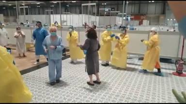 El vídeo viral de IFEMA que muestra a sanitario y a enfermos
