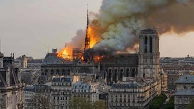Primer aniversari de l'incendi de Notre Dame