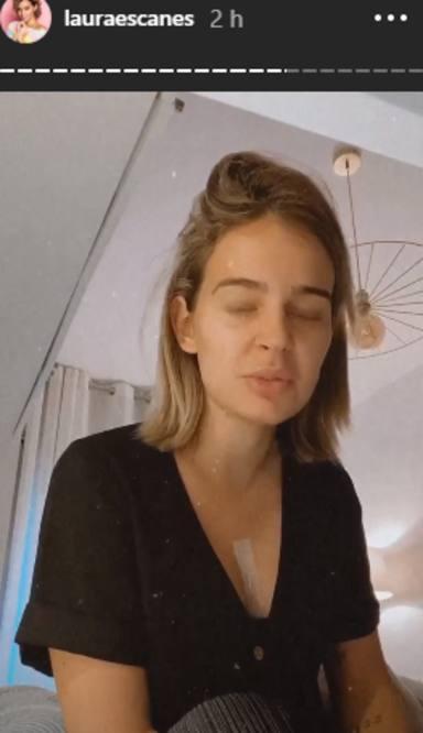 Laura Escanes se opera el pecho