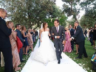Almudena Cid y Christian Gálvez celebran su décimo aniversario de boda