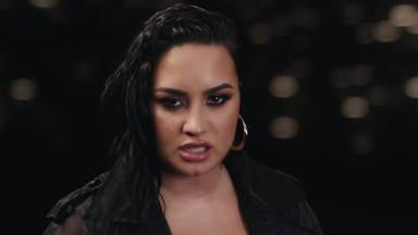 "Demi Lovato llora abiertamente en su videoclip de ""Commander in Chief"""