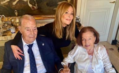"""El precioso homenaje de Ana Obregón a sus padres en el que sería su aniversario de bodas: """"El amor eterno"""""""