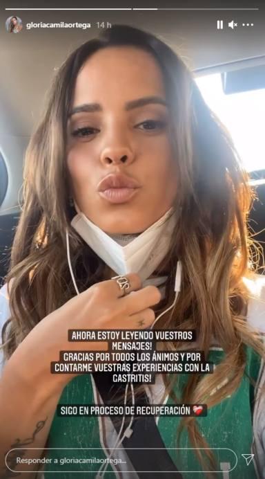 Gloria Camila, tras pasar por urgencias con unos fuertes dolores, desvela su problema: Es muy heavy