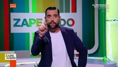 Dani Mateo, obligado a pedir disculpas en 'Zapeando' por un error geográfico de su equipo