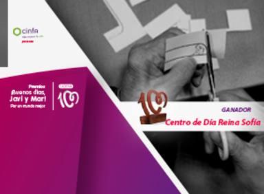 Centro de Día Reina Sofía, premio ¡Buenos días, Javi y Mar! Por un mundo mejor