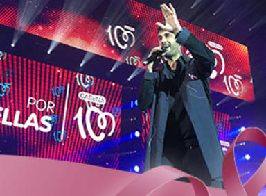 Actuación de Melendi en CADENA 100 Por Ellas 2018