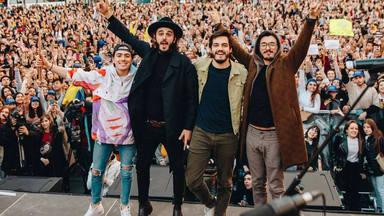 Morat revoluciona Madrid con la presentación de su gira Galeria Inesperada