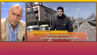 La familia de Carla Barber habla mal de Diego Matamoros