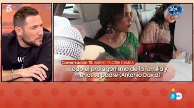 Antonio David desmiente el distanciamiento entre Gloria Camila y Rocío Flores