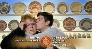José María emociona en el estreno de 'MasterChef 9' con su heroica historia de superación