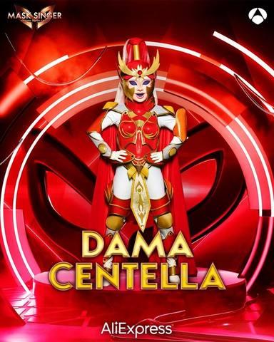 Dama Centella, una de las máscaras de Mask Singer 2