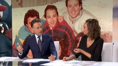 Matías Prats altera el desarrollo del informativo para dedicar unas significativas a Blanca Fernández Ochoa