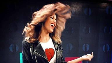 Lara Álvarez recuerda su paso por 'Lluvia de estrellas' con un divertido vídeo bailando por Michael Jackson