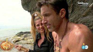 Ivana Icardi y Hugo Sierra dan rienda suelta a su amor