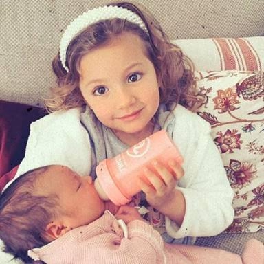 Las hijas de Esther Aranda, su mayor felicidad