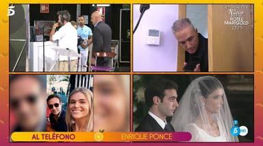 Enrique Ponce llama en directo a Sálvame y confirma su amor por Ana Soria